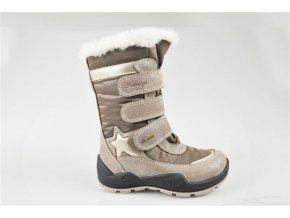 Dievčenská obuv zimná Goretexová Primigi 43807/11