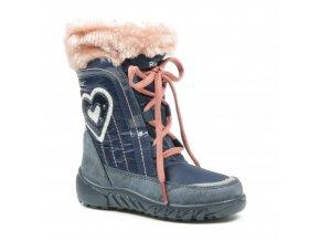 Dievčenská zimná blikacia nepremokavá obuv Richter 5152 641 7201