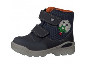 Chlapčenská nepremokavá zimná blikajúca obuv Ricosta 70 39319/180