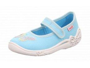 Detské dievčenské papučky Superfit 6 00287 70