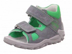 Detské chlapčenské sandálky Superfit 6 09035 25