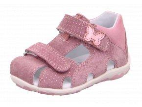 Detské dievčenské sandálky Superfit 6 09041 90