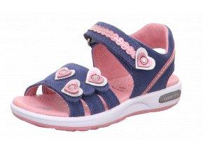 Detské dievčenské sandále Superfit 6 06133 80