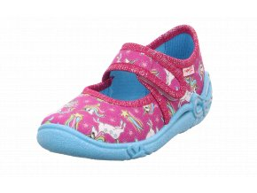 Detské dievčenské papučky Superfit 1 00288 90