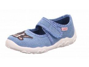Detské dievčenské papučky Superfit 6 00281 85