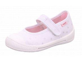 Detské dievčenské plátené papučky Superfit 8 00261 10