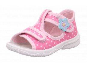 Detské dievčenské papučky Superfit 1 00293 5010