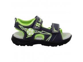 Chlapčenské blikajúce sandále Lurchi by Salamander 33-32016-39