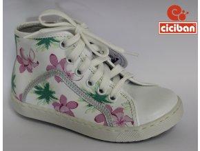 Detská celokožená obuv Ciciban Spring lotus