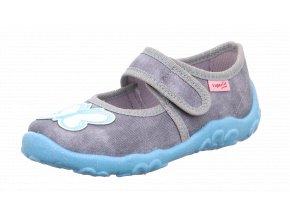 Detské dievčenské papučky Superfit 1 00280 2010