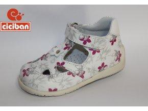Detská celokožená obuv Ciciban Marines lotus