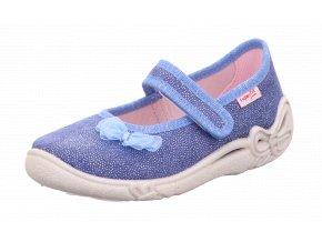 Detské dievčenské papučky Superfit 8 00287 80