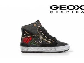 Celoročná dievčenská obuv Geox J44C8A 04322 C9999