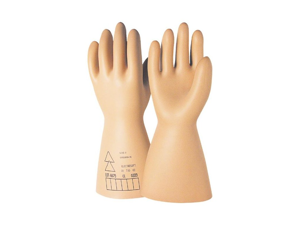 Dielektrické rukavice Tř. 1