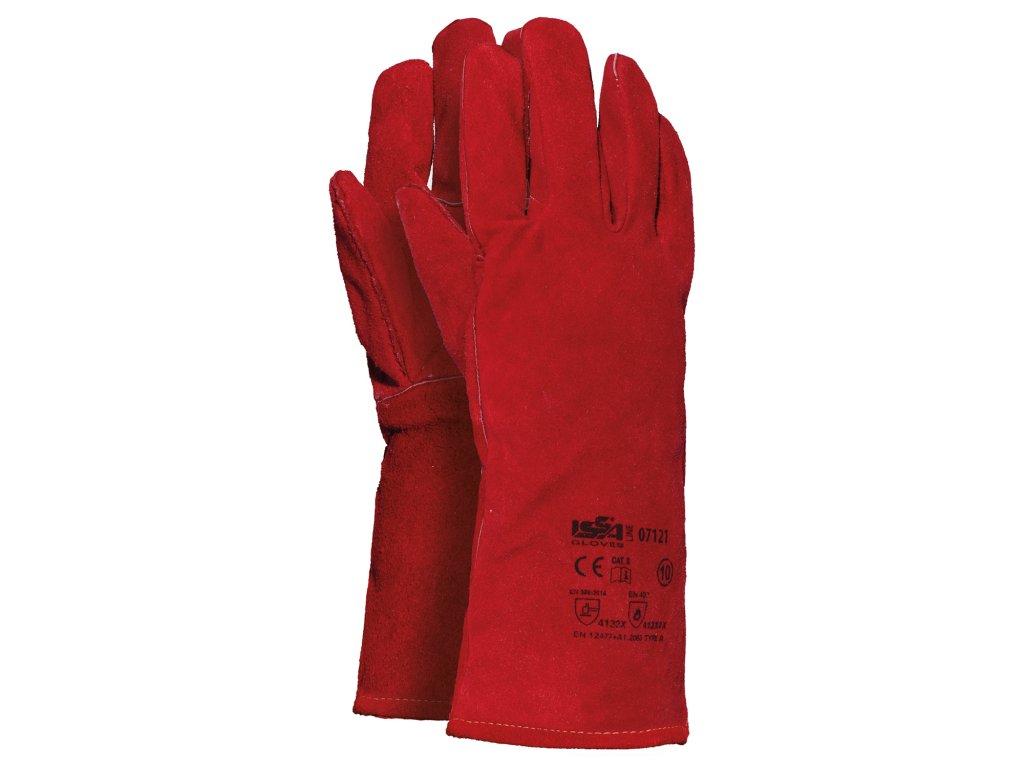 Kožené rukavice Saldatura (6pa)