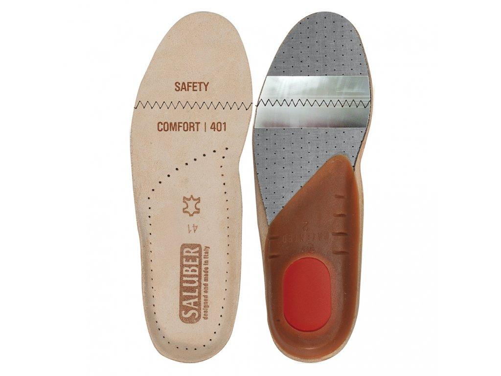 Kožené vložky do obuvi Comfort