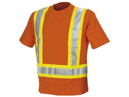 Reflexní bavlněné tričko Parma