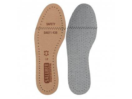 Kožené vložky do obuvi Daily