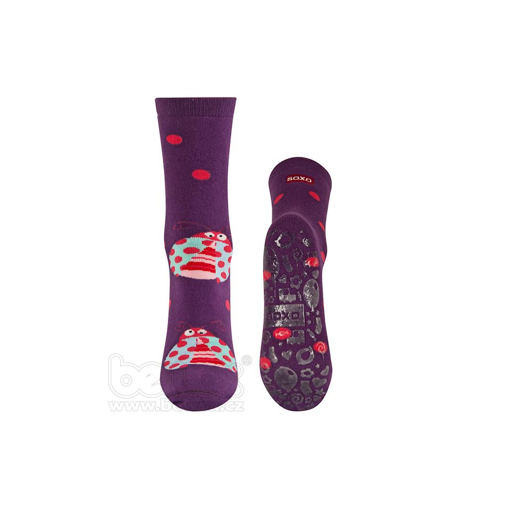 77a9fe1c78c Froté ponožky s protiskluzem BERUŠKA