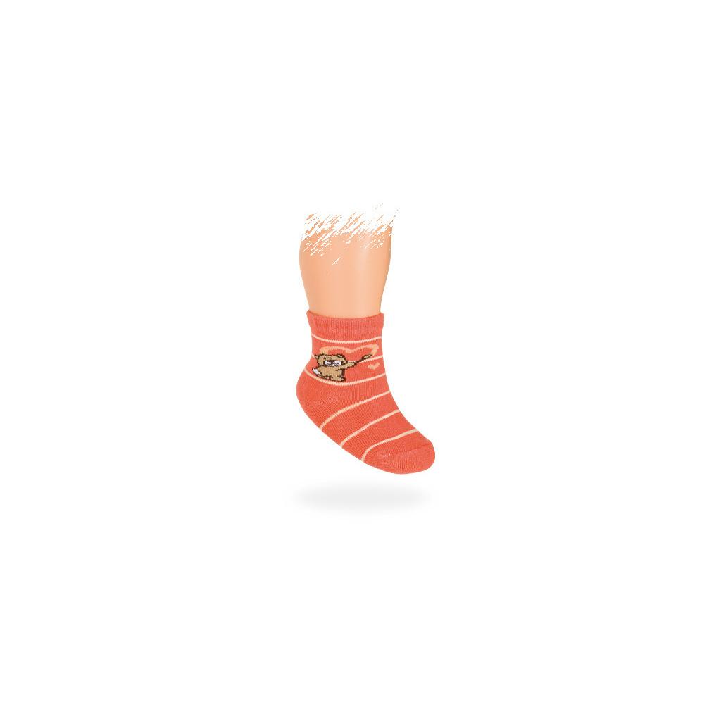0683294ba38 Kojenecké vzorované ponožky MÉĎA