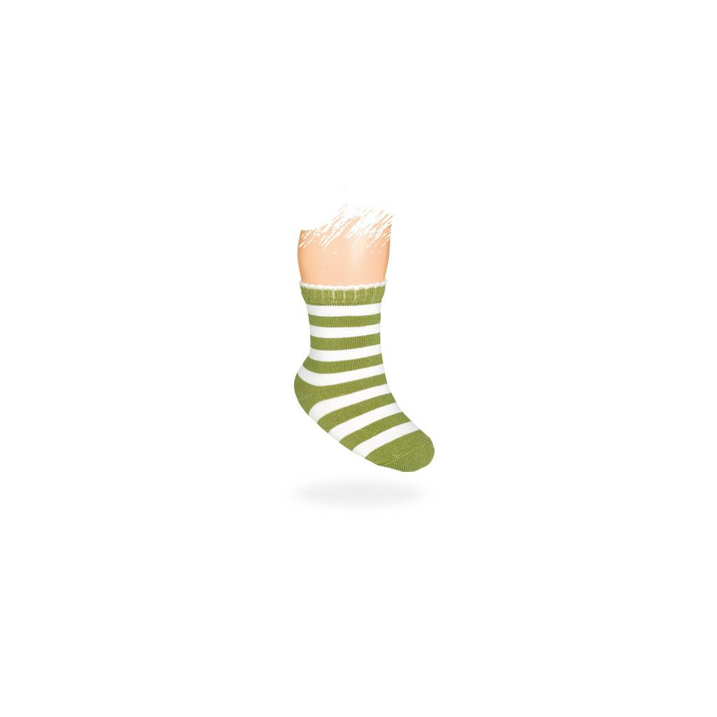 Kojenecké ponožky vzor PROUŽKY