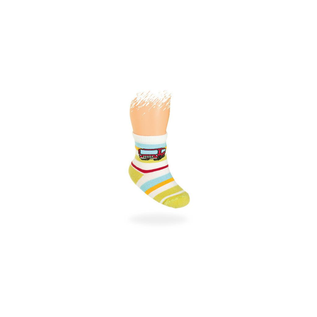 Kojenecké ponožky vzor AUTOBUS