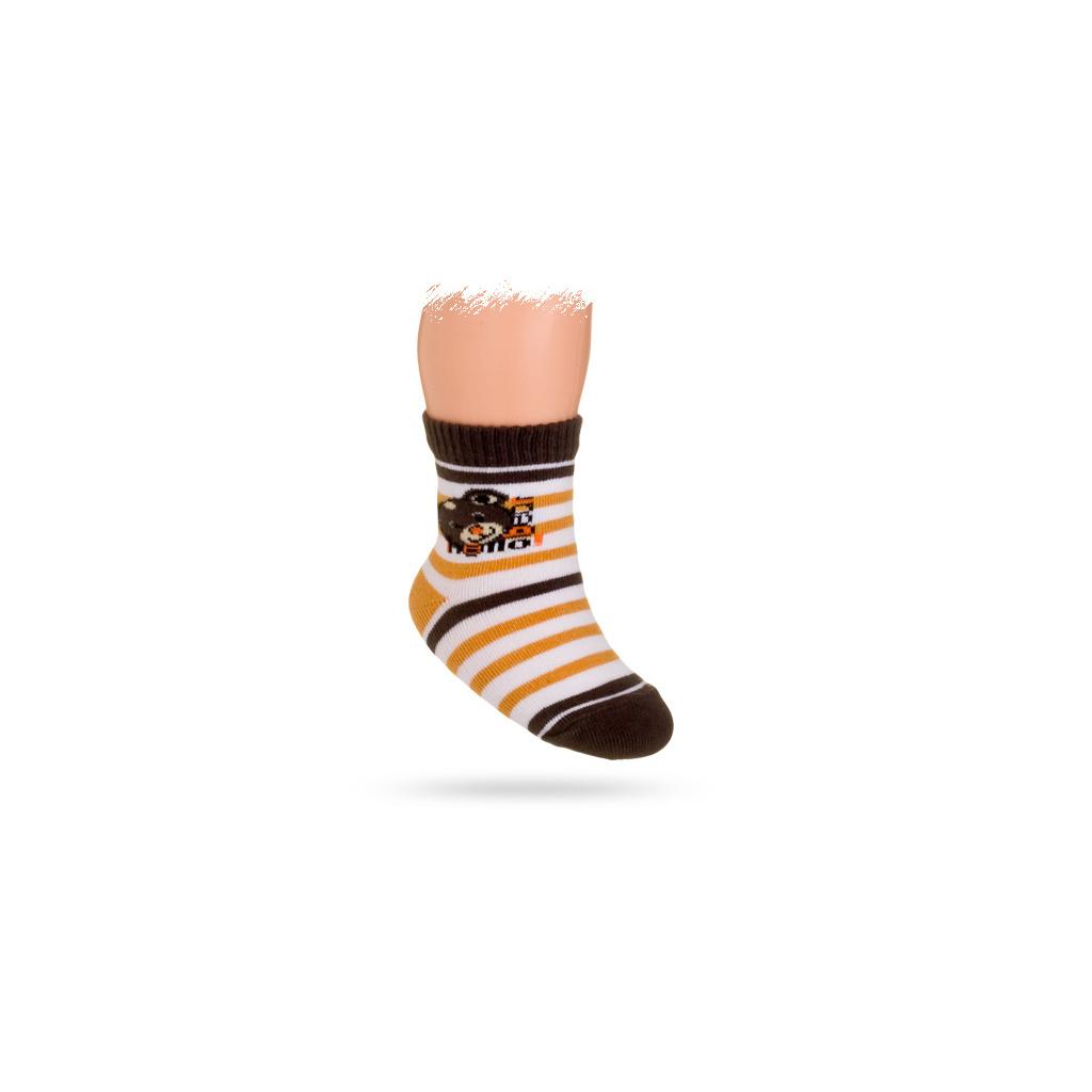 4ab1c72d2ee Kojenecké ponožky vzor MÉĎA