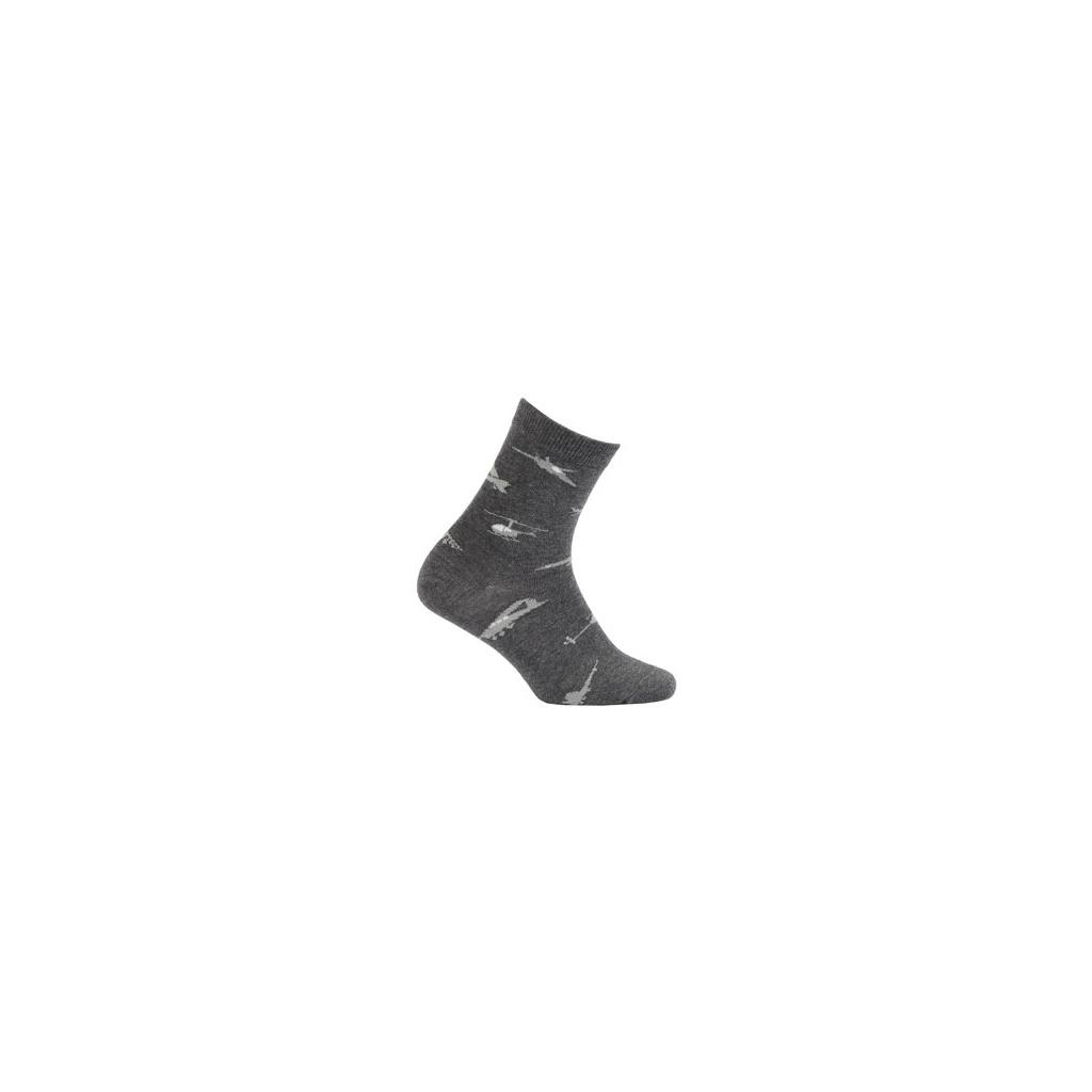 3cb8b5e04b0 Chlapecké vzorované ponožky GATTA LETADLA