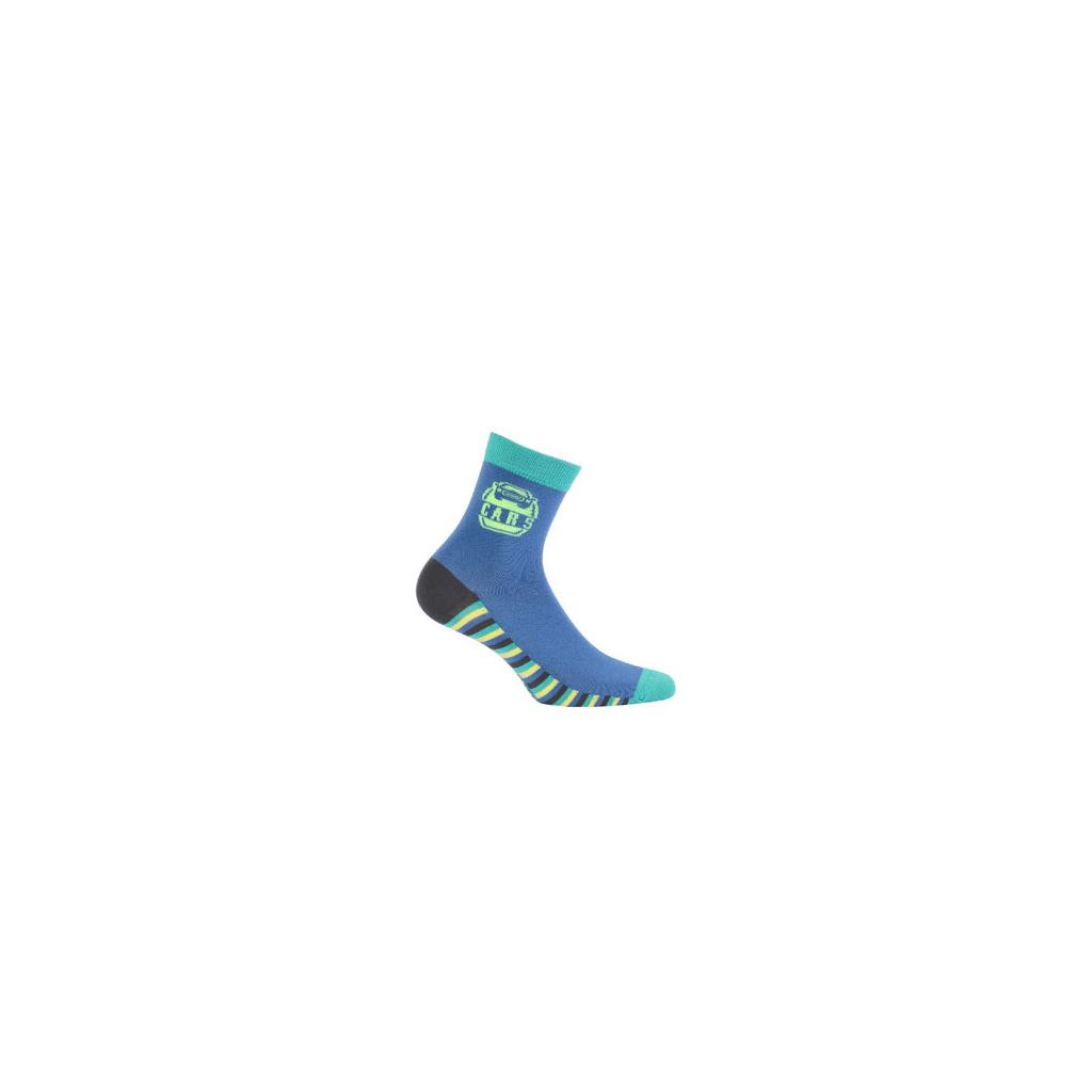 Ponožky WOLA vzorované CARS