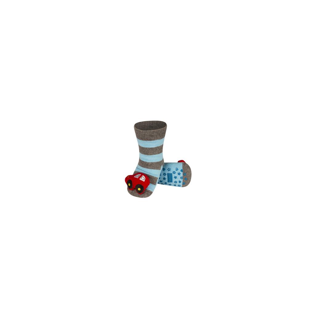 Ponožky s chrastítkem AUTO