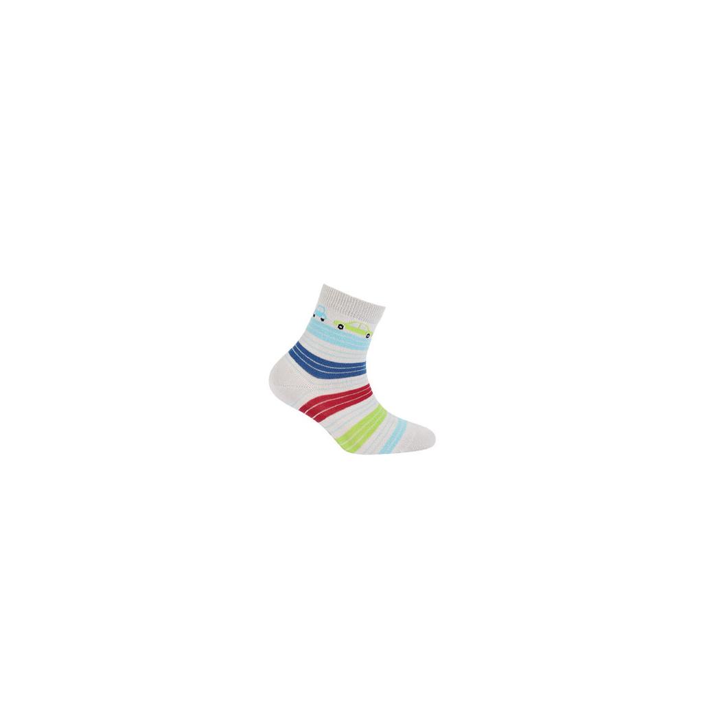 Vzorované ponožky pro kluky WOLA AUTÍČKA