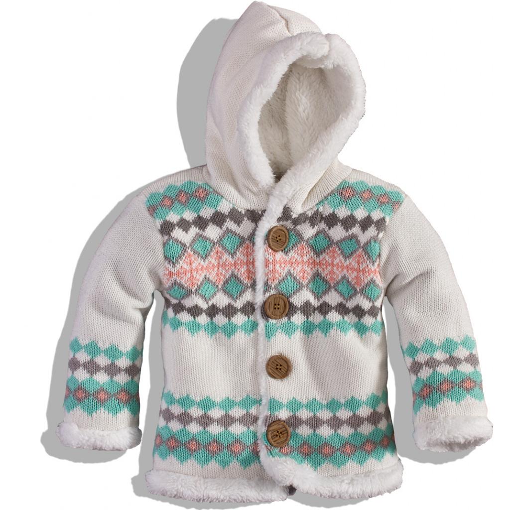 Dětský zateplený svetr DIRKJE 2134663711