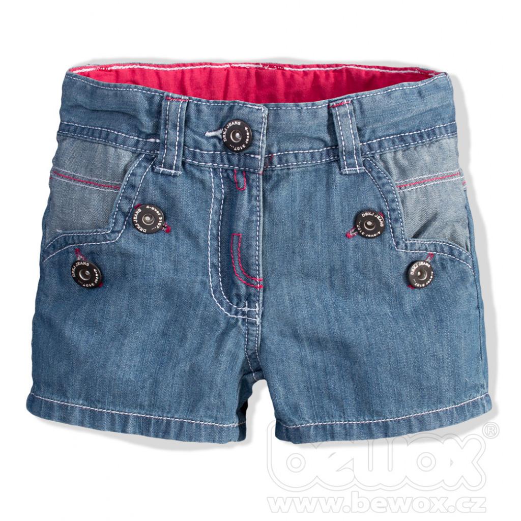 Kojenecké dívčí riflové šortky DIRKJE