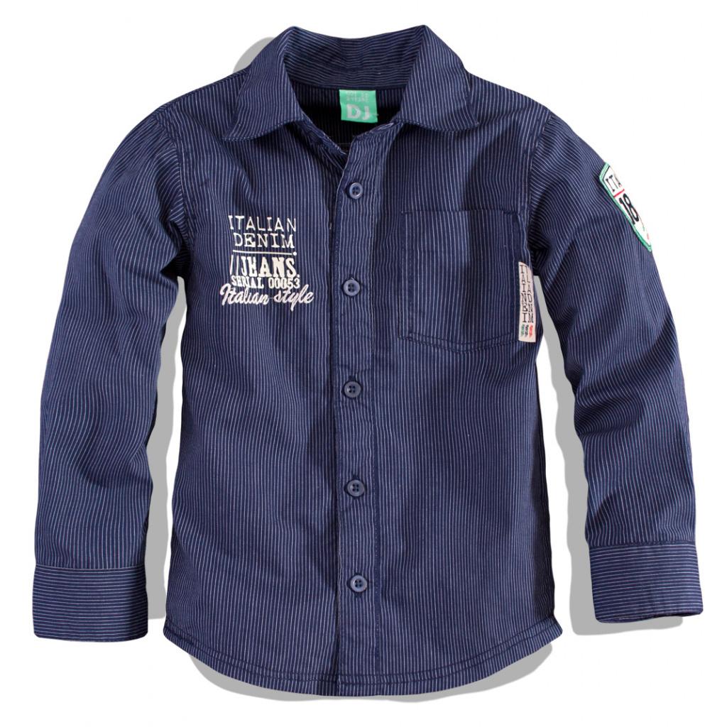 Chlapecká košile Dirkje DENIM tmavě modrá  d4d9fde302