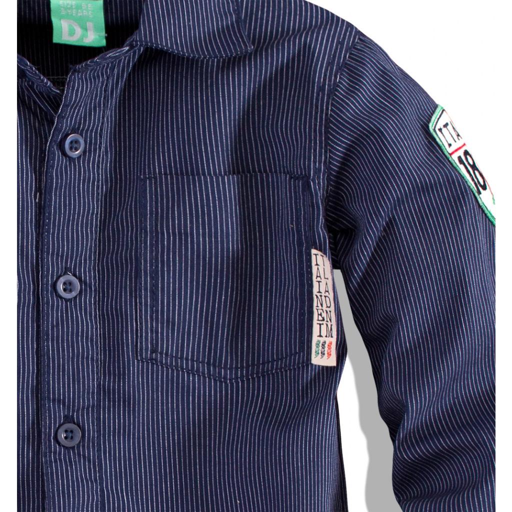 Chlapecká košile Dirkje DENIM tmavě modrá ... 123c84ac50