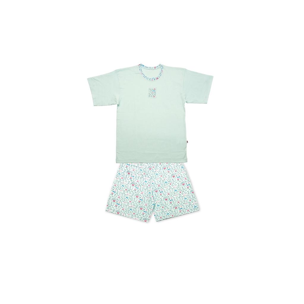 Dívčí pyžamo KEY LETTER světle modré
