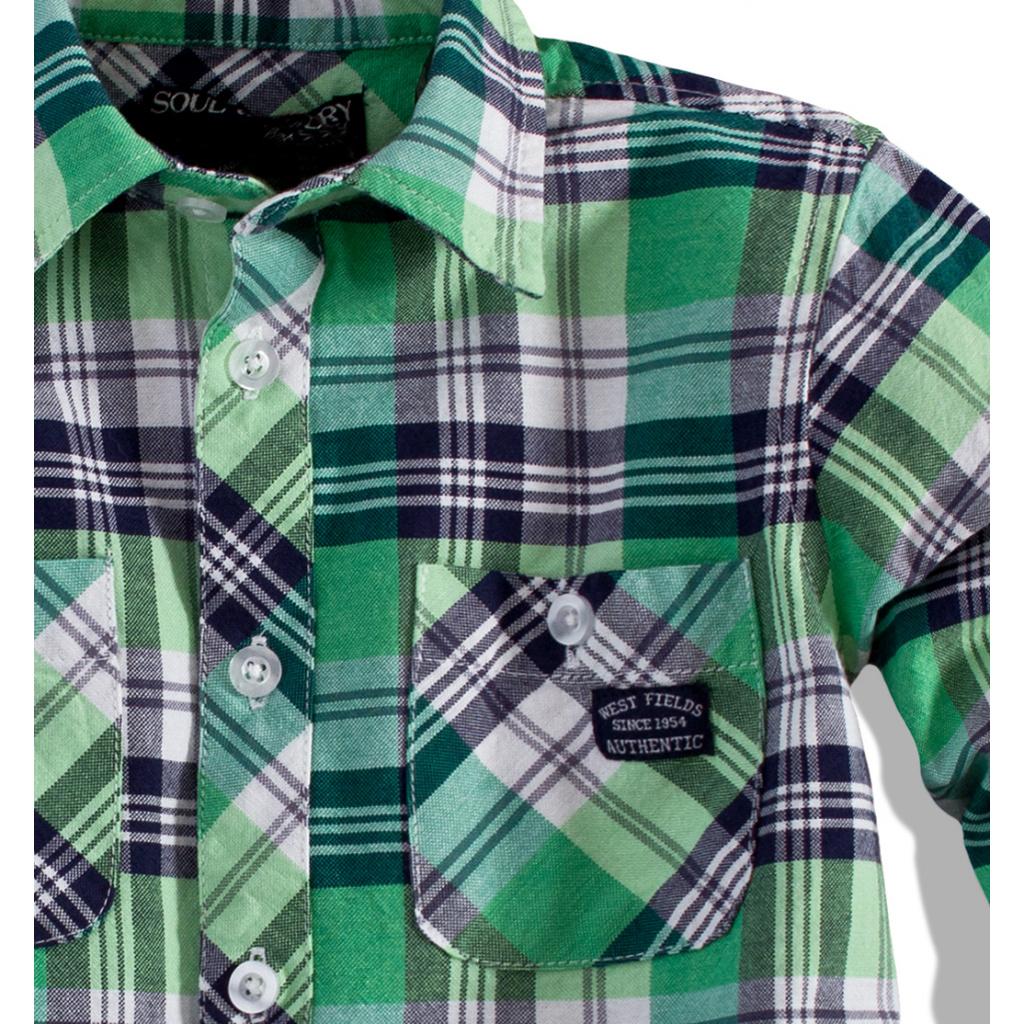 74345fd18f2 Chlapecká košile s dlouhým rukávem Soul Glory ...