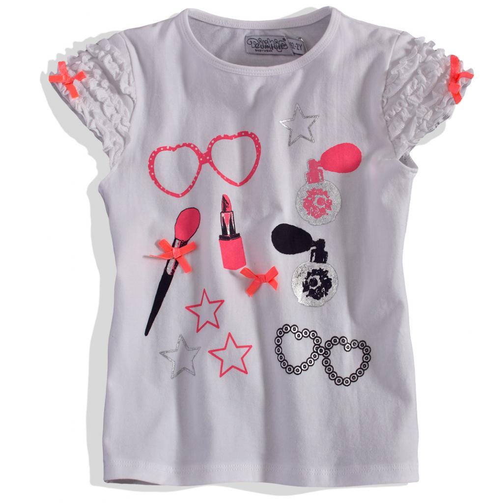 Dívčí tričko s krátkým rukávem DIRKJE DIRKJE