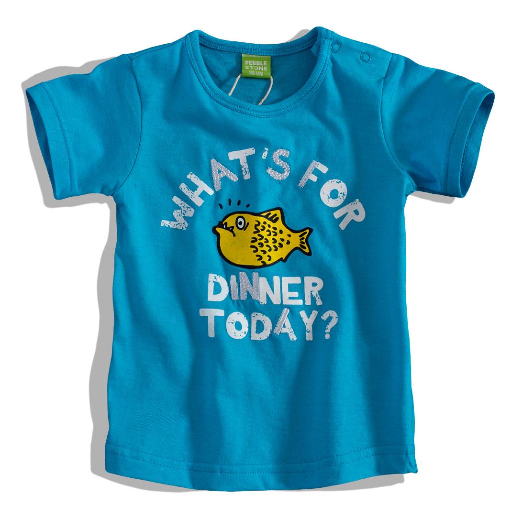 Kojenecké tričko s krátkým rukávem PEBBLESTONE