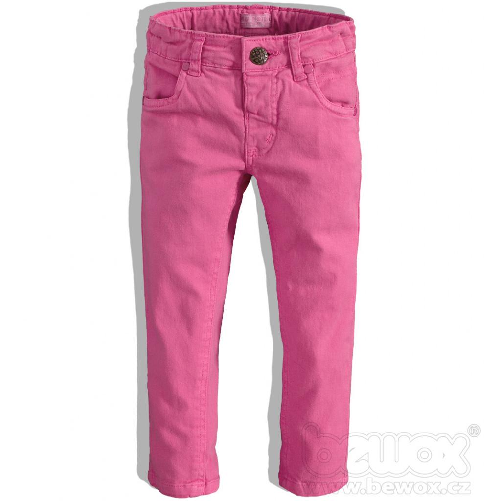 Dívčí barevné džíny Minoti BIKE