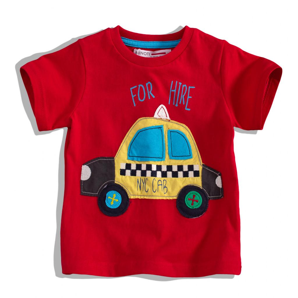 Dětské tričko s krátkým rukávem MINOTI, BUS MINOTI