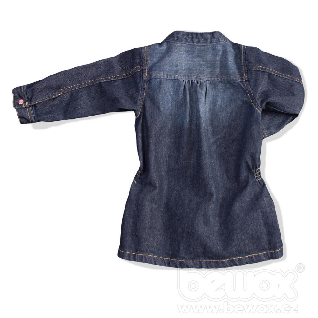 7dc1bf2b80a2 Dětské riflové šaty DIRKJE Dětské riflové šaty DIRKJE