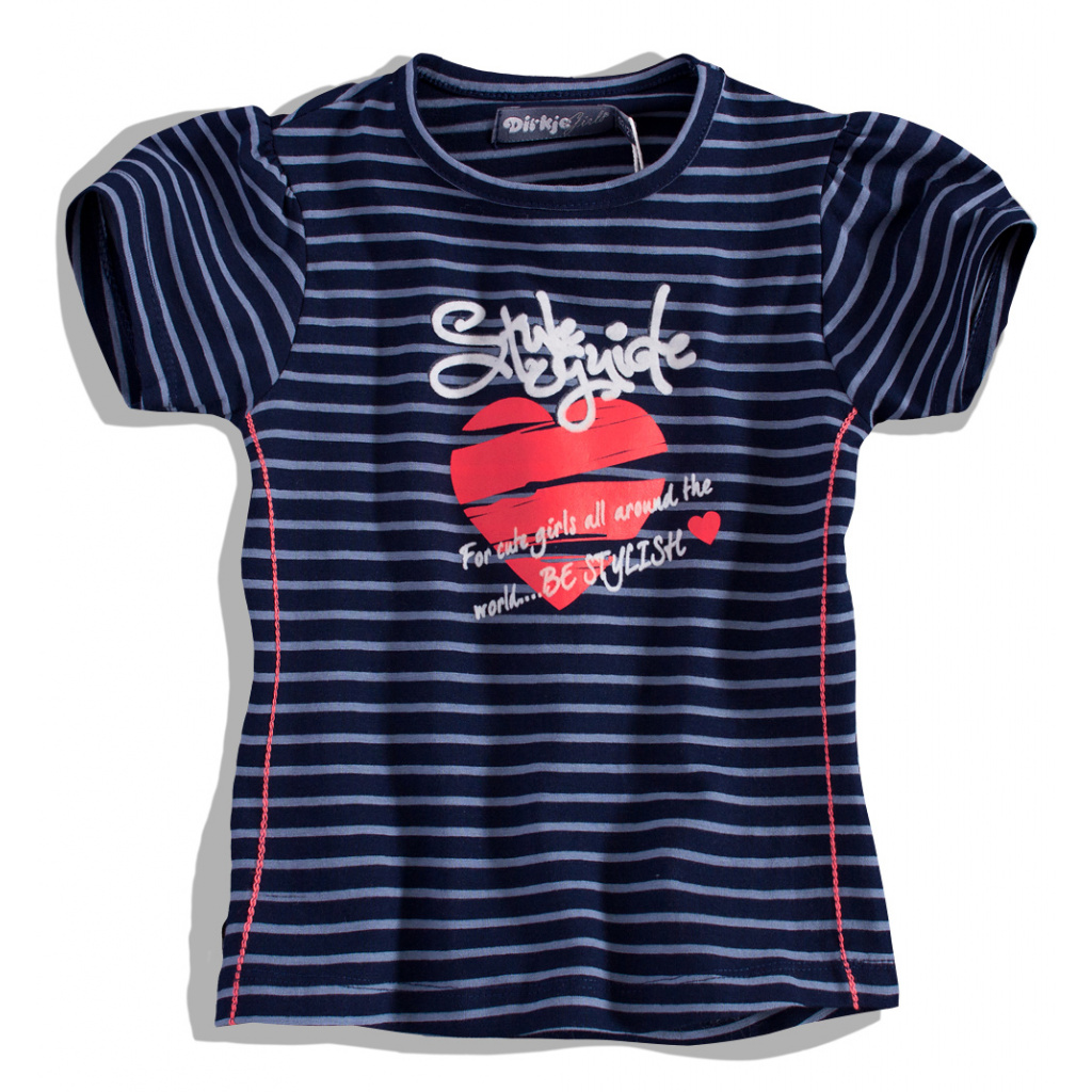 Dívčí tričko DIRKJE, SRDCE DIRKJE
