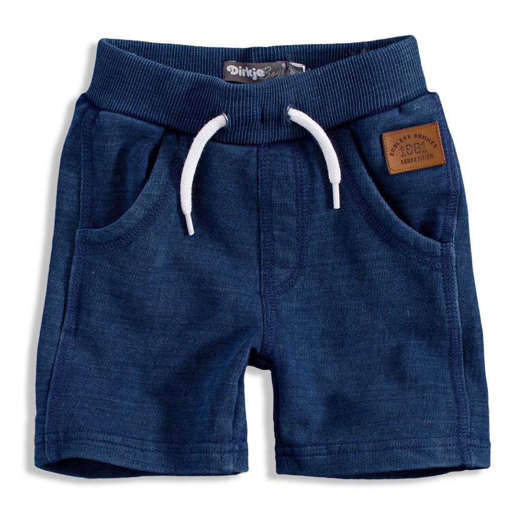 Dětské bavlněné šortky Dirkje DENIM modré  00f8f7e73c