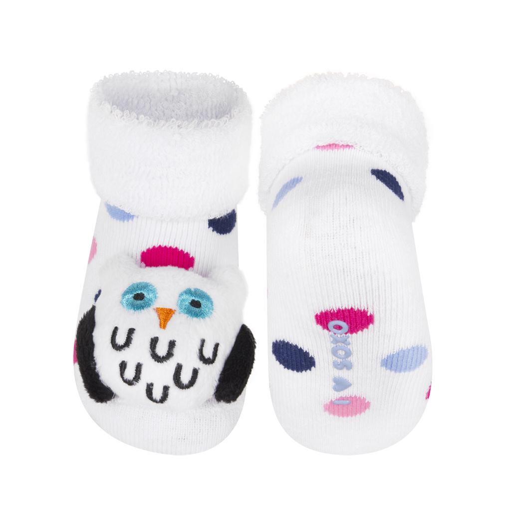 Ponožky s chrastítkem SOXO SOVA