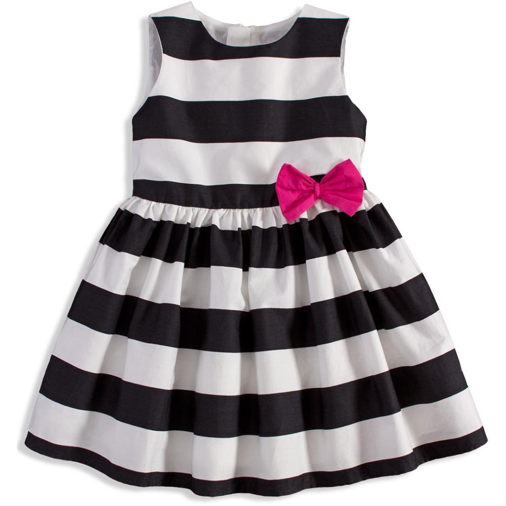 Dívčí pruhované šaty MINOTI PERFECT  7efb4558f0