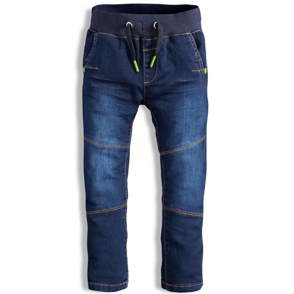 Dětské kalhoty DIRKJE WIN modré
