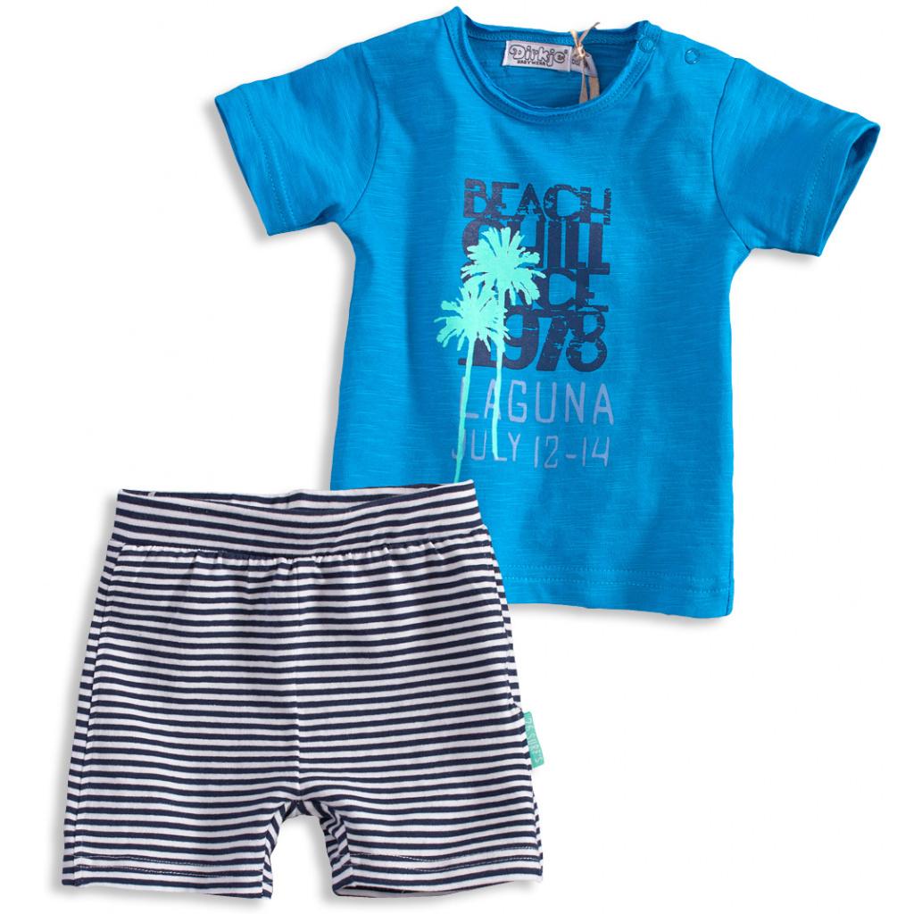 Dětská letní souprava DIRKJE BEACH modrá