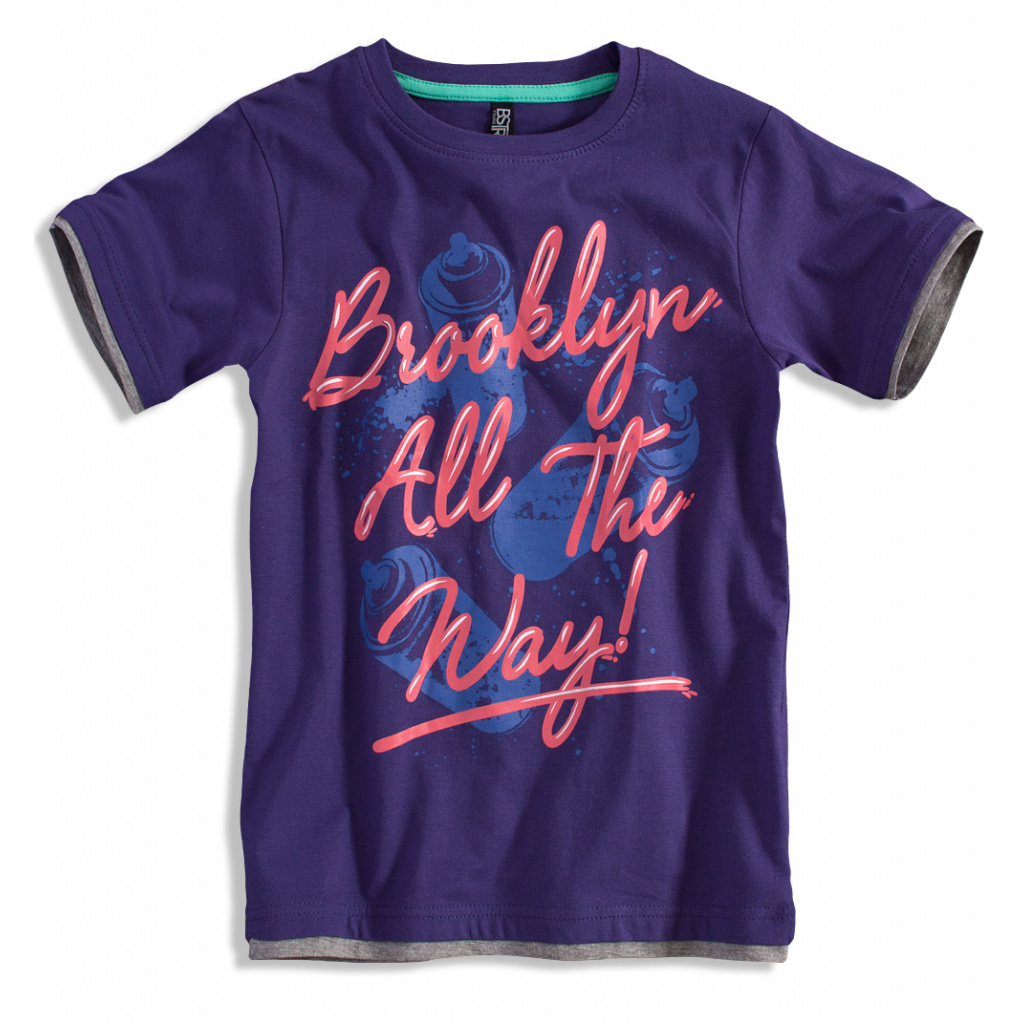 Chlapecké tričko BOYSTAR BROOKLYN fialové