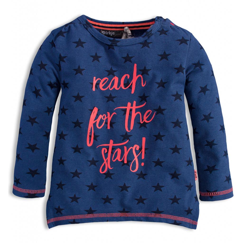 Dívčí triko DIRKJE STARS modré